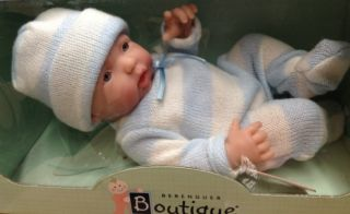 Berenguer Mini La Newborn 9 5 Caucasian Boy Anatomically Correct New