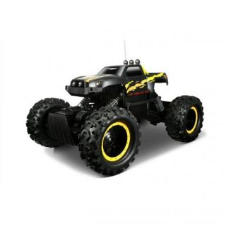 Rock Crawler 4x4 RC Truck Off Road Metallic Black Tri Channel New