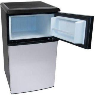 Mini refrigerator freezer combo home garden major appliances
