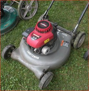 Lawn Mowers Craftsman MTD Excell Pressure Washer Weed Trimmer More