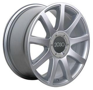 18 Rims Fit Audi RS4 Wheels Silver 18 x 8 5 Set
