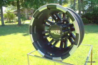 Black Machined 963 Dually 17 x 6 2011 12 GMC Chevy Wheels