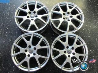 Four 2011 Dodge Journey Factory 19 Wheels Rims 2422 1RUTRMAA Silver