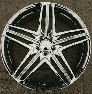 Menzari Z12 20 Chrome Rims Wheels Audi Q5 20 x 8 5 5H 35