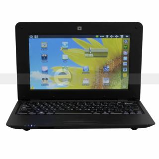 10 Mini Laptop Netbook Via 8650 800MHz 4GB 256MB Android 2 2 WiFi