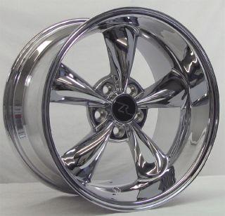 Bullitt 18 inch Mustang Wheels Deep Dish 18x9 & 18x10 Bullet Rims 18
