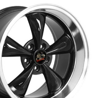Black bullitt Bullet Style deep wheels rims fit Mustang® GT 94 04