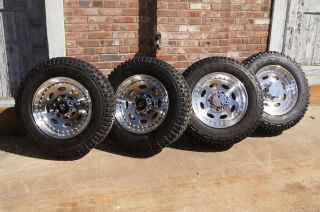 Qty 4 Heavy Duty 19 5 HD 8 Lug Wheels Tires GMC Dodge Ford Direct Bolt