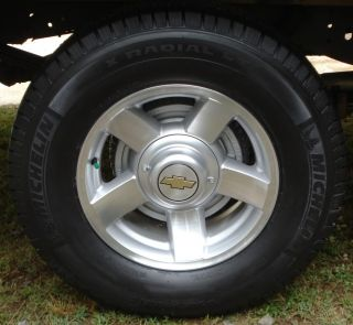 CHEVY SET 4 NEW OEM FACTORY 16 WHEELS 5108 RIMS 2000 LIMITED EDITION