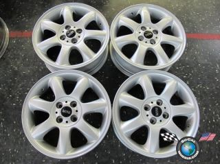 four 02 13 Mini Cooper Factory 16 Wheels OEM Rims 59570 Clubman style