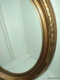 Vintage Art Deco Set Gold Oval Picture Frames 10 x 14