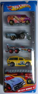 Hot Wheels 5 Pack Diecast Cars Assorted Packs to Choose from New in