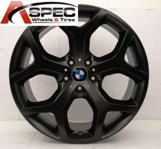 20 Matt Black BMW Style Wheels Fit BMW x5 x6 Xdrive 3 0 3 5 4 8 E70