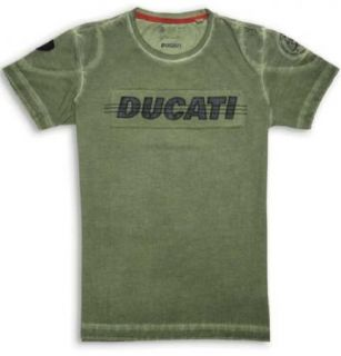 Ducati Diesel Rim T Shirt Military Green New for 2013 Most Sizes