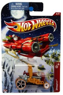 2012 Hot Wheels Holiday Hot Rods 8 Dragtor