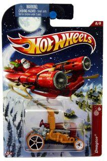 2012 Hot Wheels Holiday Hot Rods 8 Dragtor
