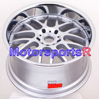20 20x8 5 20x10 5 Silver Polished Lip Rims Wheels Porsche 06 08 997