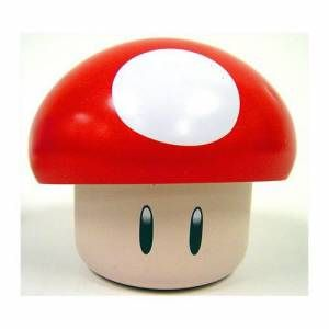 Super Mario Red Mushroom Tin Cherry Sour Candy