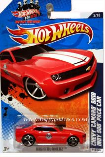 2011 Hot Wheels Nightburnerz 113 Chevy Camaro 2010 Ind