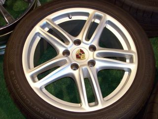 19 Porsche Panamera Wheels Factory Silver Turbo 4 s 18 20 4S GTS