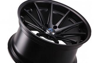 Audi B8 S5 Rohana RC10 Concave Matte Black 20x11 Wheels Rims