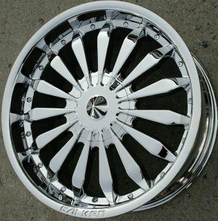 Falken Atlantic City 20 Chrome Rims Wheels Toyota Tacoma 95 Up 20 x 8