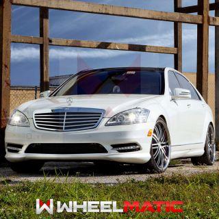 19 Vossen 82 19x8 5 10 5x112 30 36 Silver Machined Wheels Rims