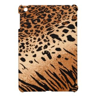 Leopard Tiger Animal Print Background iPad Mini Cover