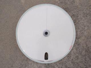 Disc Wheel Covers Fixie Track Bike Polo White