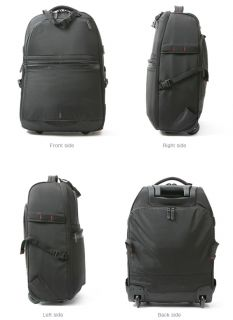 23L Pro Wheels Rolling Backpack Camera Cart Photography Carry Case Bag