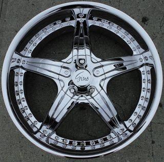 497 20 Chrome Rims Wheels Nissan Xterra 98 04 20 x 8 5 6H 25