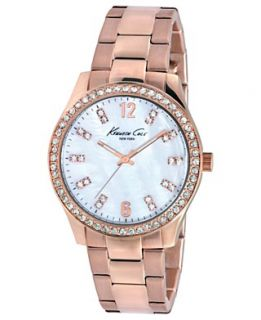 Kenneth Cole New York Watch, Womens Rose Gold Ion Plated Stainless