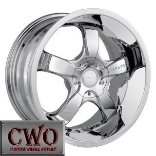 18 Chrome Touren TR6 Wheels Rims 5x112 5x120 5 Lug Passat Audi