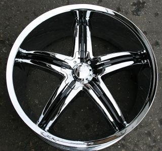 Viscera 770 20 Chrome Rims Wheels 2WD Blazer s 10 Jimmy GM