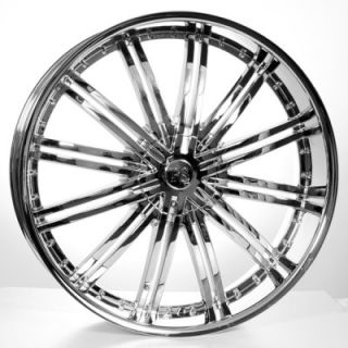 28 Rims Tires Chevy Ford Cadillac H3 GMC QX56 Wheels