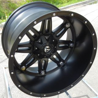76 Black Fuel Hostage Wheels Rims Ford F250 F350 Excursion