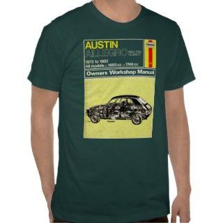 Austin Allegro Owners Manual Shirt