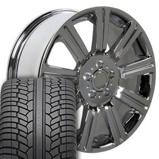 22 Chrome Wheels Rims UHP Tires Fit Range Land Rover HSE Sport LR3