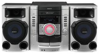 Sony MHC RG190 3 CD Double Cassette Mini Stereo System