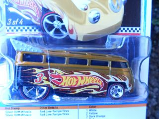 Hot Wheels 2011 Collector Edition Volkswagen T1 Drag Bus Real Riders