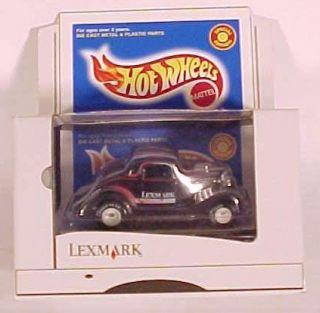 Hot Wheels Lexmark Black 3 Window 34 Ford
