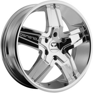 22 Lorenzo Wheels Rims Magnum Charger Challenger SRT8