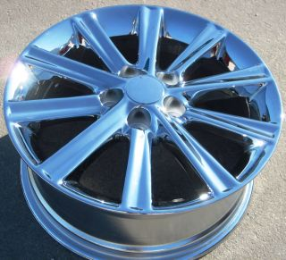 STOCK  4 2012 17 FACTORY TOYOTA CAMRY HYBRID XLE CHROME WHEELS RIMS