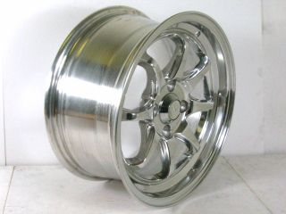 Nippon Racing Wheels 15 inch Rims 4x114 3 Polish MAG1