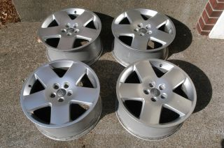 AUDI A8 OEM 18 EURO FAT FIVES Wheels Factory Genuine A4 A6 Jetta Golf