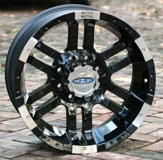 Wheels Rim Moto Metal 951 Chevy GM HD Dodge 2500 3500 Trucks 8 Lug