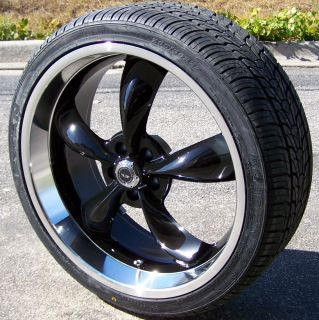 22 Black Torq Thrust Wheels Rim Nexen Tires Magnum Charger Challenger