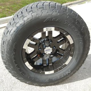 17 Motometal 951 Wheels Rim Nitto Terra Grappler Tundra Tacoma Sierra