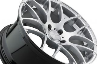 G35 Coupe Avant Garde M310 Silver Concave Staggered Rims Wheels