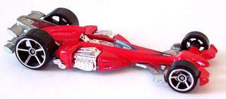 2007 Hot Wheels 021 Ferracin Nitro Scorcher Base